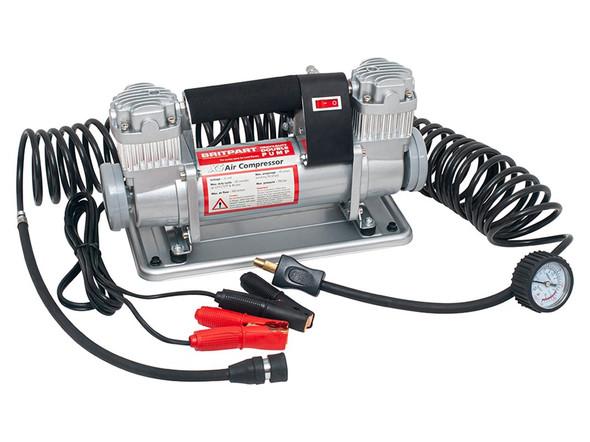 Britpart XS double pump 12v portable air compressor - DA2392XS