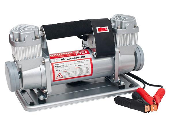 JGS4x4 Britpart XS double pump 12v portable air compressor - DA2392XS
