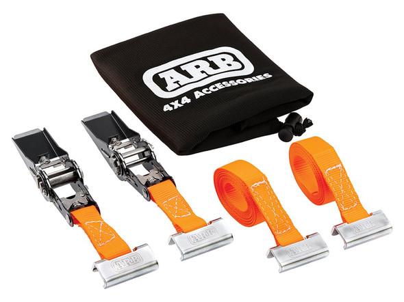 JGS4x4 ARB Base roof rack ratchet straps 25 x 3,000mm - 1780370