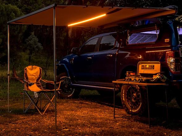 JGS4x4 ARB awning & led light kit 2,000 x 2,500mm - 814406