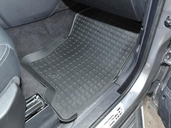 Land Rover Discovery 4 L319 Rubber Floor Mat Set Black LHD - DA4803