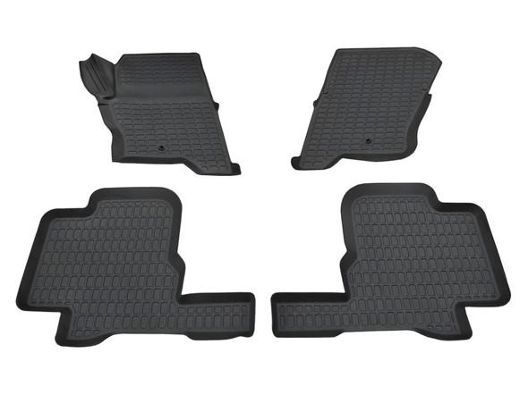 Discovery 4 L319 Rubber Floor Mat Set Black LHD - DA4803