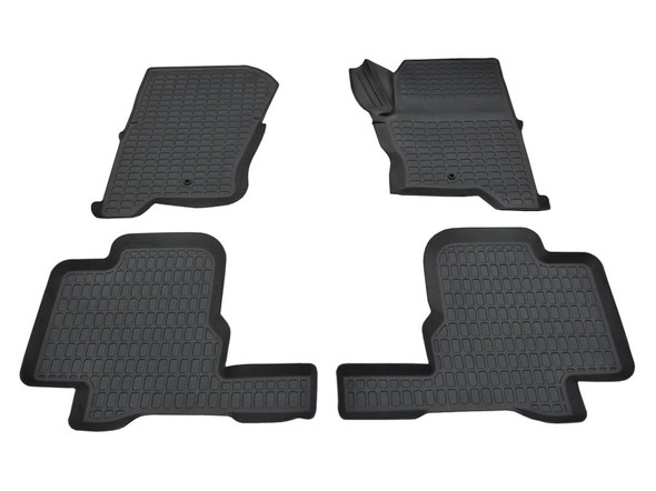 Discovery 4 L319 Rubber Floor Mat Set Black RHD - DA4802