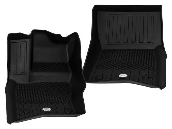 NEW Defender Front & Rear Deep Sided Set Black LHD - VPLES0552LR