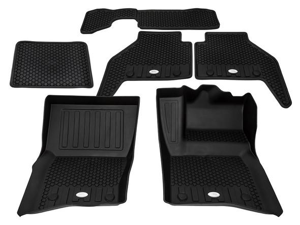 Land Rover NEW Defender Front & Rear Deep Sided Set Black RHD - VPLES0551LR