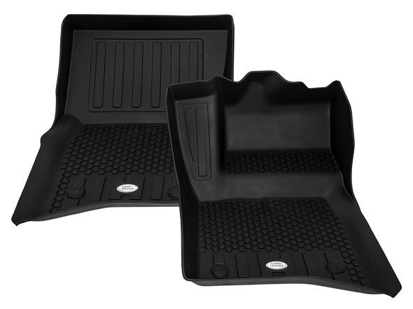 NEW Defender Front & Rear Deep Sided Set Black RHD - VPLES0551LR
