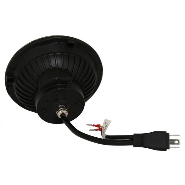 JGS4x4   Defender Black LED Headlamp Light Pair RHD - BA070LEDB