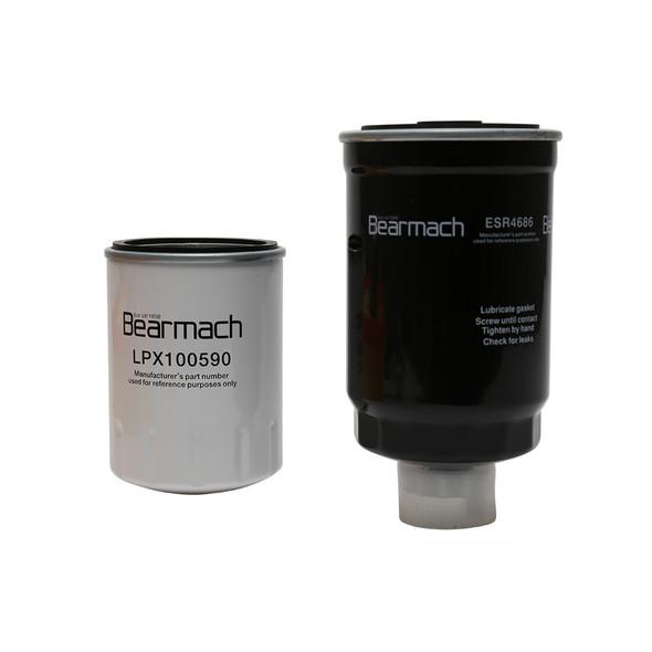 JGS4x4 | Discovery 2 L318 Td5 Engine Service Kit Oil & Air Filters Bearmach Filters - BK0014BM-1