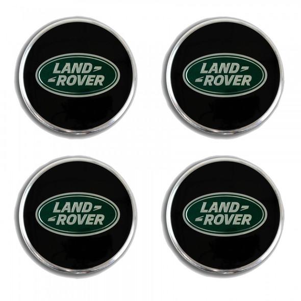 JGS4x4 | Land Rover Land Rover Wheel Centre Cap Black & Silver 4Pcs - LR094547LR