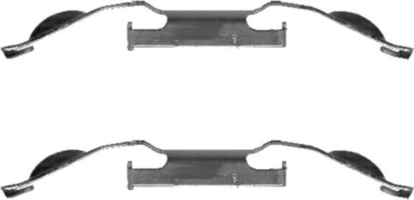 JGS4x4   Freelander 2 2007-2014 Front Brake Pad Fitting Kit Mintex - MBA1221