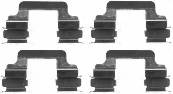 JGS4x4 | Freelander 2 2012-2014 Rear Brake Pad Fitting Kit Mintex - MBA1610