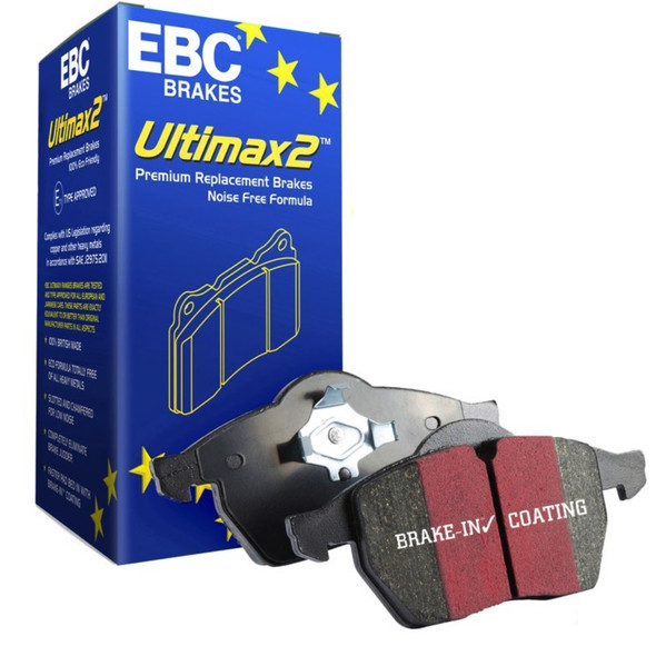 JGS4x4 | Range Rover L405 2013 Onwards Front Brake Pads EBC Ultimax - DA4831