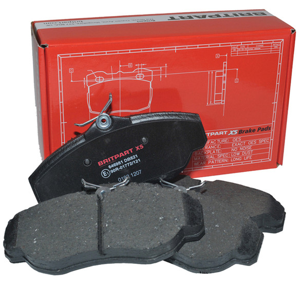 JGS4x4 | Range Rover L405 2013 Onwards Rear Brake Pads Britpart XS - LR079910G