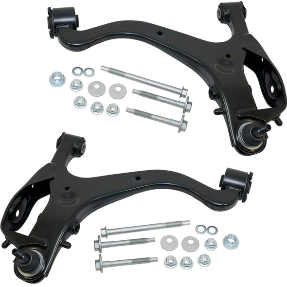 JGS4x4 | Land Rover Discovery 3 L319 Front Lower Suspension Arms Kit With Bolts OE Quality - KIT630