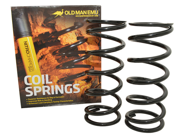 JGS4x4   Land Rover Discovery 2 L318 OME Rear Coil Springs Plus 40mm Medium Load - DA8912
