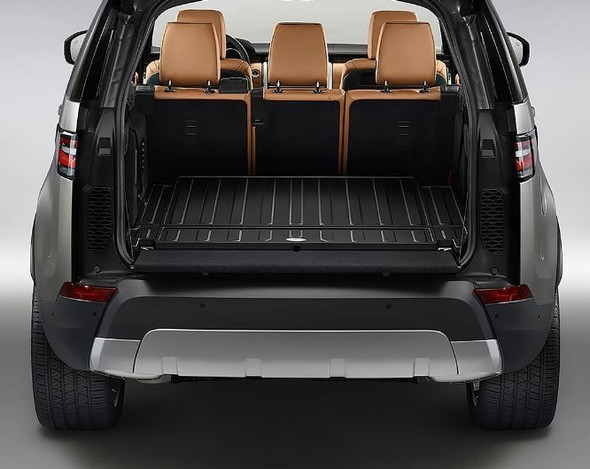 JGS4x4 | Land Rover Discovery 5 L462 Boot Loadspace Rubber Mat Protector Ebony - VPLRS0375PVJLR