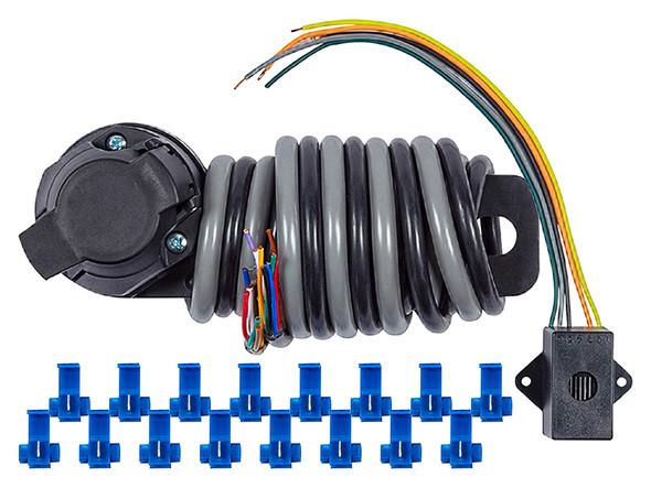 JGS4x4 | Land Rover Towing Electrics 13-Pin Socket Kit With Relay - DA1882