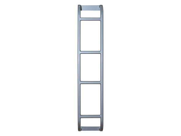 Defender Rear Roof Rack Access Ladder Grey