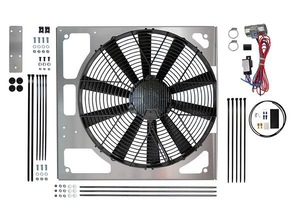 JGS4x4 | Land Rover Discovery 2 Td5 Electric Cooling Fan Conversion Kit Revotec - DA8968
