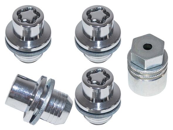 JGS4x4 | Land Rover Range Rover L322 Locking Wheel Nuts & Key Kit - LR078545