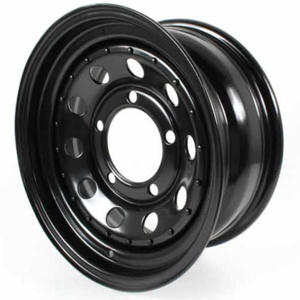 "JGS4x4 | Land Rover Discovery 1 Modular Steel Wheel Black 16""x7"" - GRW006"