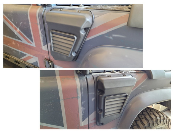 JGS4x4 | Land Rover Defender Wolf Style Air Intake XD Vent - TF1041