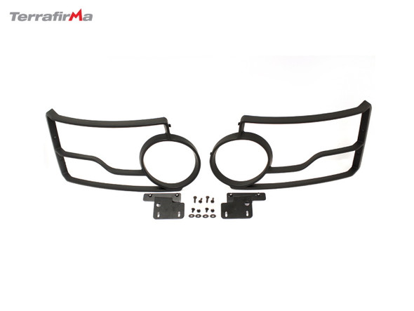 JGS4x4 | Land Rover Discovery 4 L319 Front Light Guards - VPLAP0008