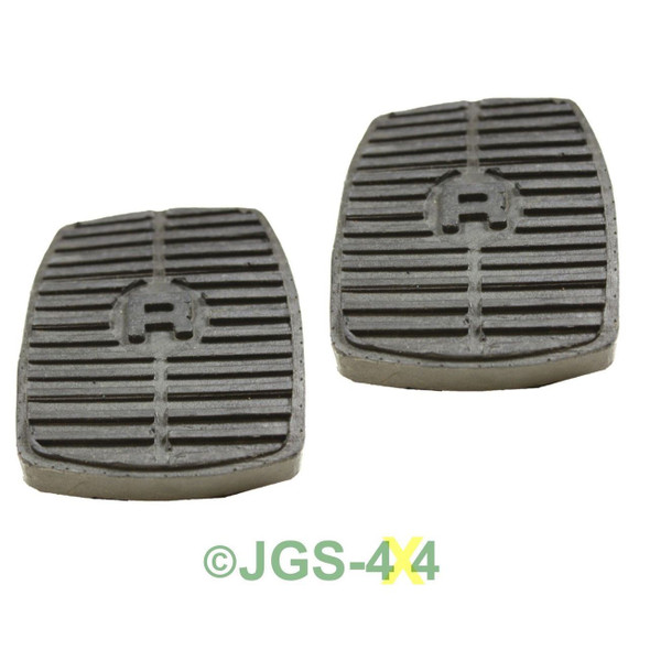 Land Rover Discovery 1 & 2 Brake & Clutch Pedal Rubbers x2 - 575818