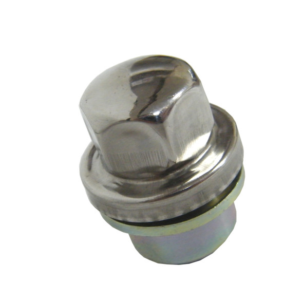 Land Rover Discovery 2 & Range Rover P38 Alloy Wheel Nut Stainless Cap - ANR3679