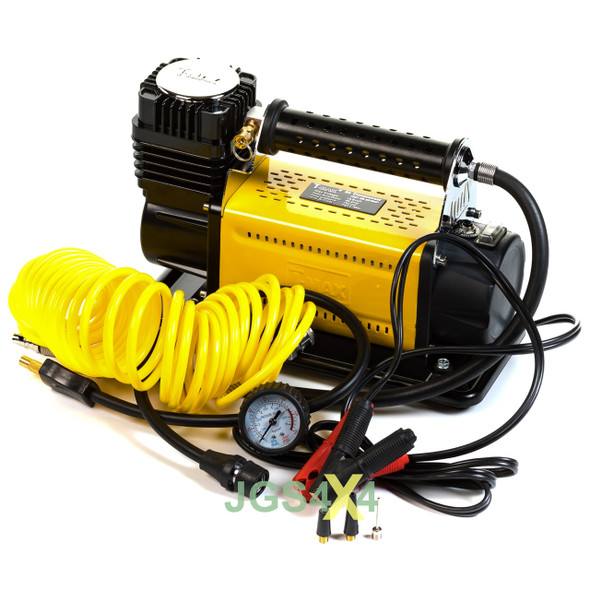 T-MAX 12V Air Compressor HEAVY DUTY Portable Tyre Inflator Adventurer