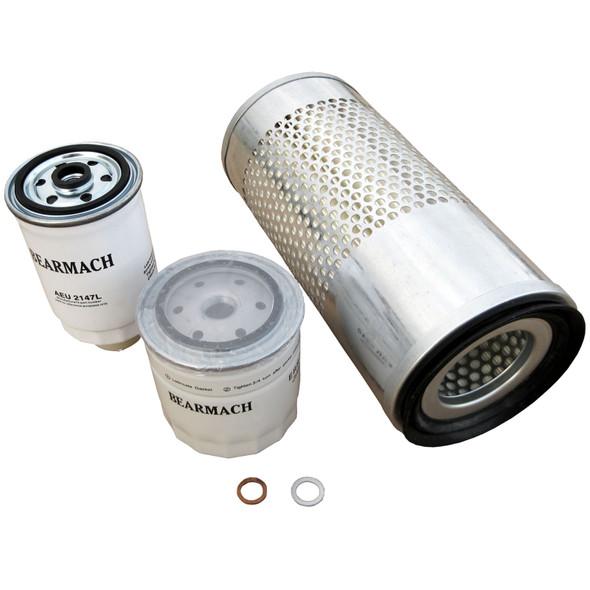 Land Rover Defender 300TDi Engine Service Filter Kit Oil Air Fuel - BK0013