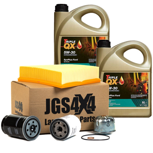 JGS4x4 | Land Rover Defender Td5 Engine Service Filter Kit With Fully Synthetic Engine Oil -