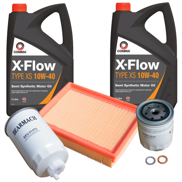 JGS4x4 | Land Rover Discovery 300TDi Service Filter Kit Air Oil Fuel With Engine Oil