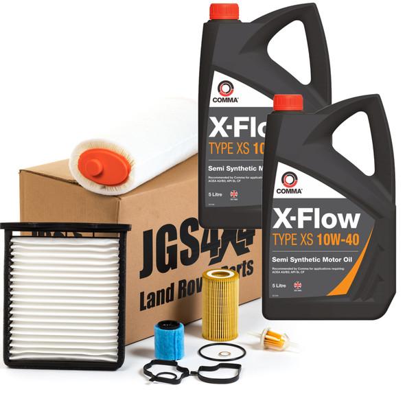 JGS4x4 | Land Rover Freelander 1 L314 Td4 Engine Service Filter Kit With Engine Oil
