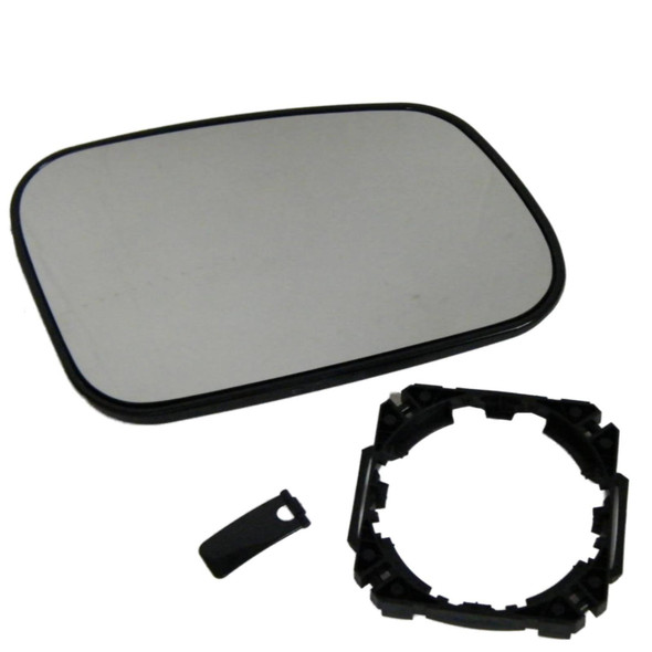 JGS4x4   Land Rover Discovery 2 Replacement Wing Mirror Glass & Mount Right Hand Heated -