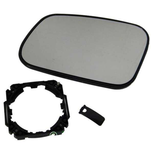 JGS4x4   Land Rover Discovery 2 Replacement Wing Mirror Glass & Mount Left Hand Heated -