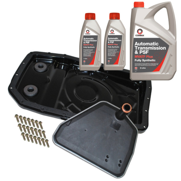 JGS4x4 | Land Rover Discovery 3 L319 Automatic Gearbox Easy Change Filter Kit + Comma MVATF -