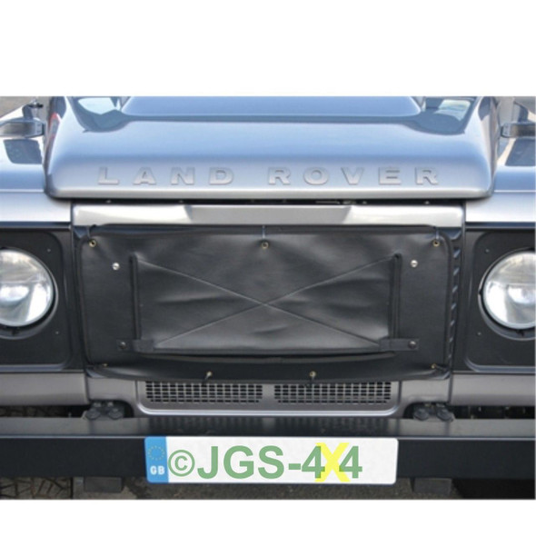 Land Rover Defender Radiator Muff Grill Cover - DA2161BLACK