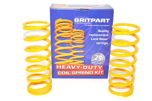 "Land Rover Defender 90 Suspension +2"" Lift Kit Front Coil Springs Medium Load - DA4202"