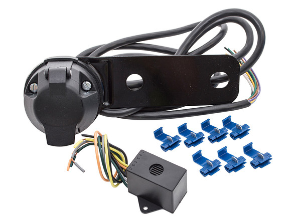 JGS4x4 | Land Rover Towing Electrics 12N 7-Pin Socket Kit With Relay - RTC8872