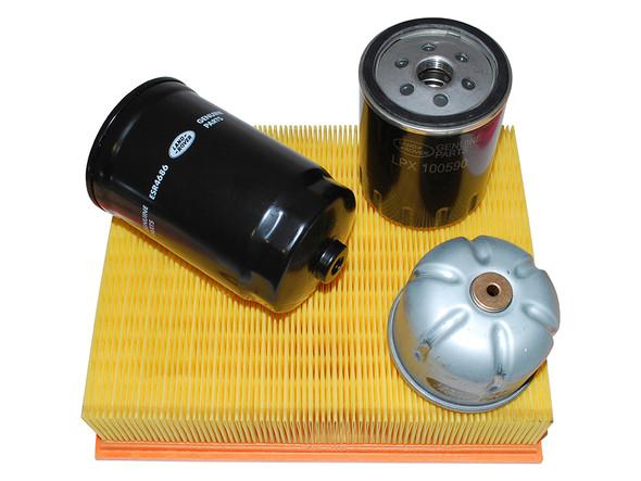 Defender Td5 Genuine Parts Engine Service Filter Kit - DA6004LR