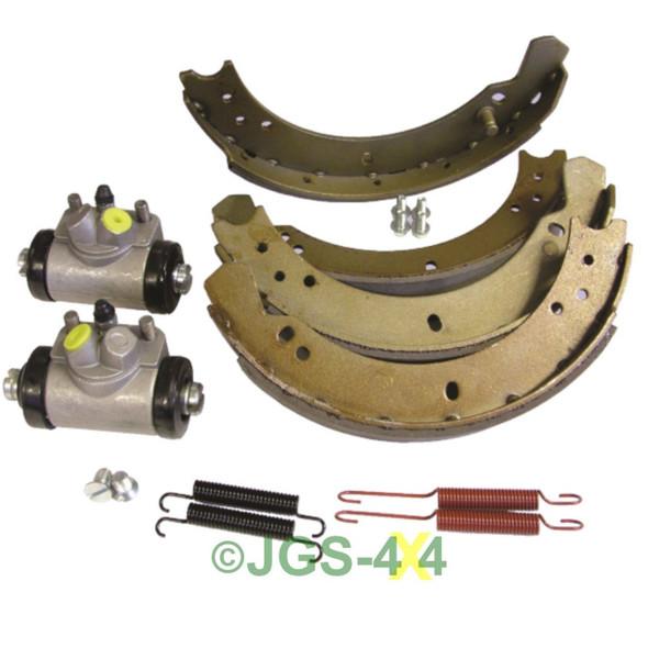 Land Rover Series 2/3 SWB 88 Front Brake Shoe & Wheel Cylinder Kit - DA6042