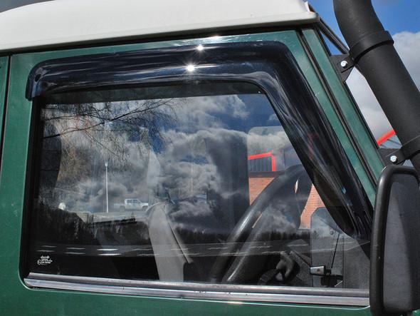 JGS4x4 | Land Rover Defender Front Window Wind Deflector Set - DA6078