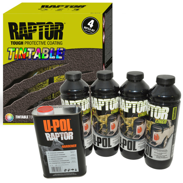 UPOL RAPTOR Tintable Liner Paint Ultra Tough Urethane Coating RLT/S4 - DA6384