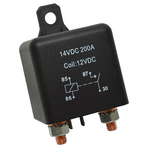 Heavy Duty 200A Split Charge Relay - DB1500