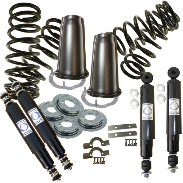 Land Rover Defender 90 Full Standard Suspension Kit Coil Springs Shocks Turrets