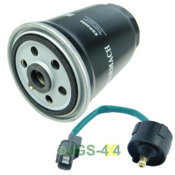Land Rover Defender TD5 Diesel Fuel Filter & Water Sensor - ESR4686 / WKW500060