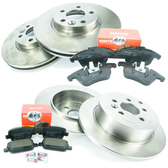 Land Rover Freelander 2 Front & Rear Brake Discs & MINTEX Brake Pad Kit