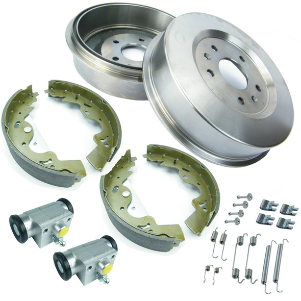 JGS4x4 | Land Rover Freelander 1 L314 TD4 Rear Brake Drums & Shoes Overhaul Kit -