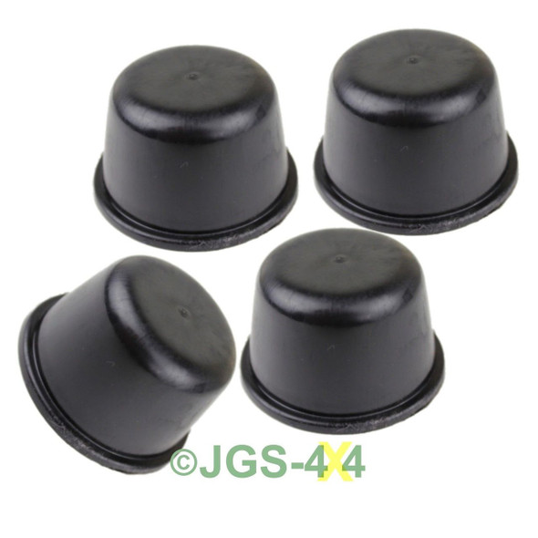 Land Rover Defender Rubber Hub Dust Cap x4 - FRC4377